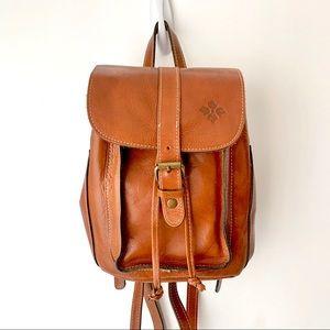 Patricia Nash Heritage Tan Backpack